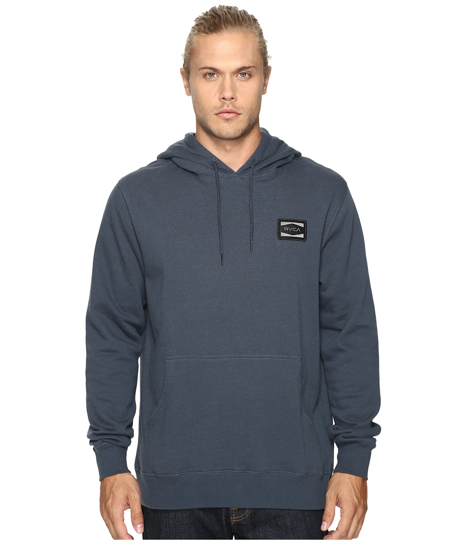 RVCA - Injector Pullover (Midnight) Men's Clothing