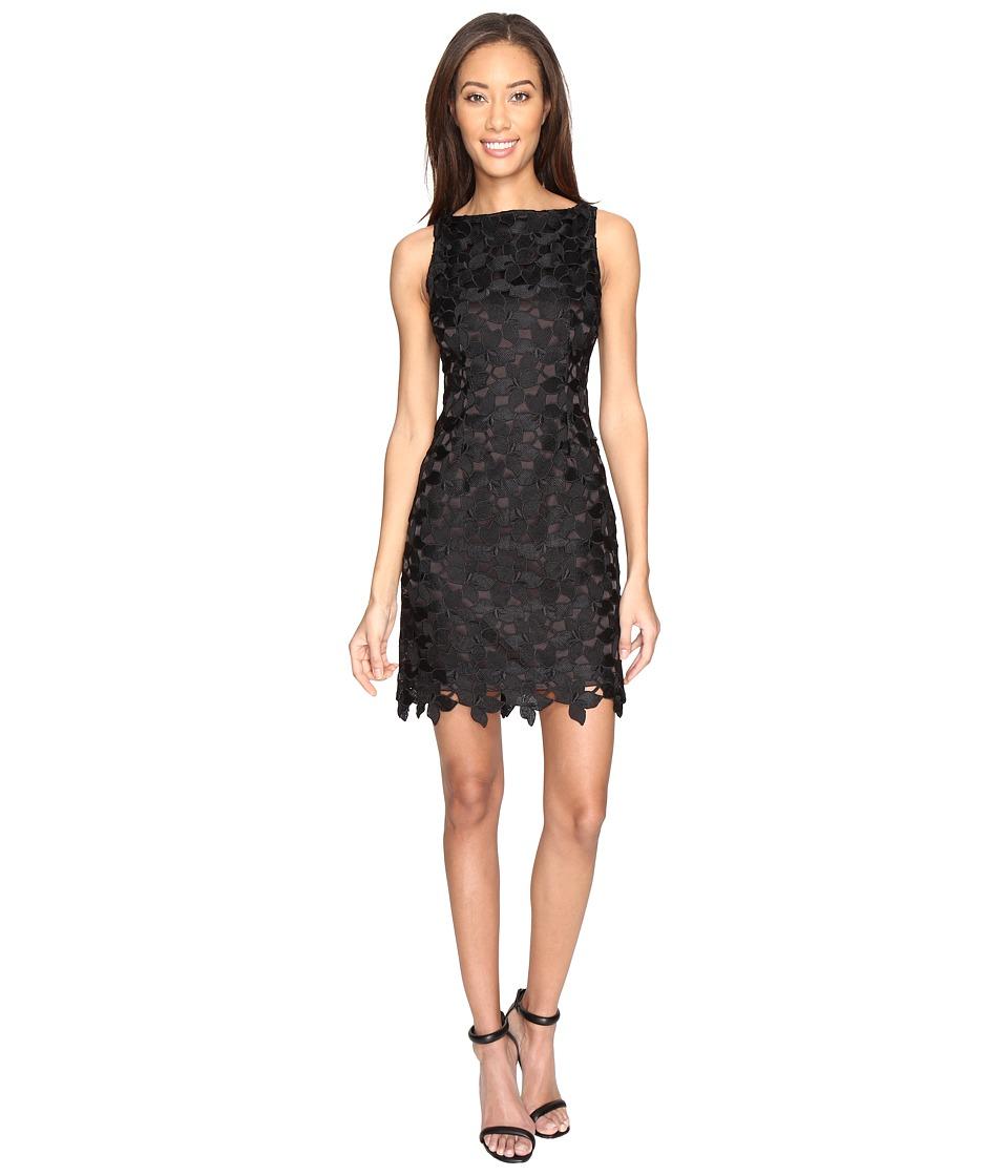 Tahari by ASL - Classic Lace Sheath Dress (Black) Women's Dress