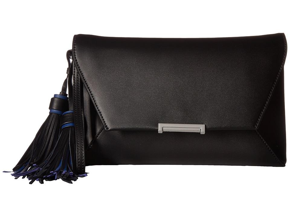 Ivanka Trump - Mara Envelope Clutch (Black Core/Tassles) Clutch Handbags