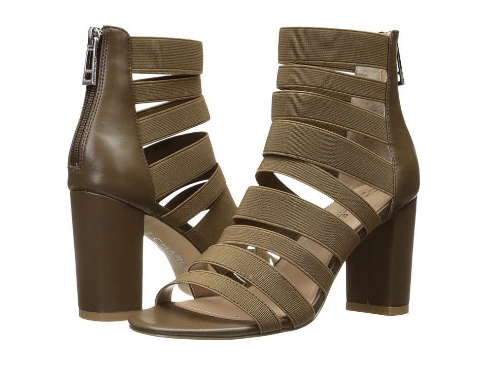 Charles by Charles David Erika (Taupe Elastic/Smooth) Women