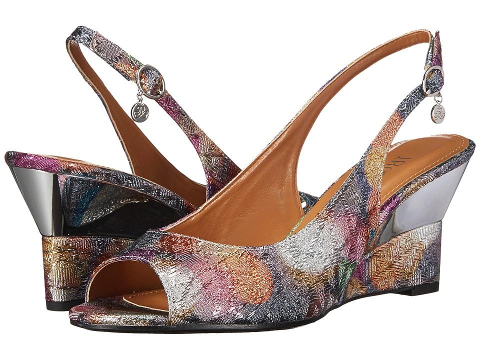 J. Renee - Sailaway (Silver/Pastel) Women's Shoes
