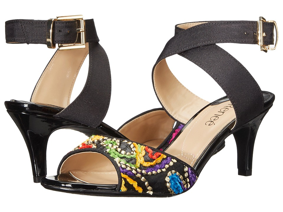 J. Renee - Soncino (Black/Bright Multi) Women's Shoes