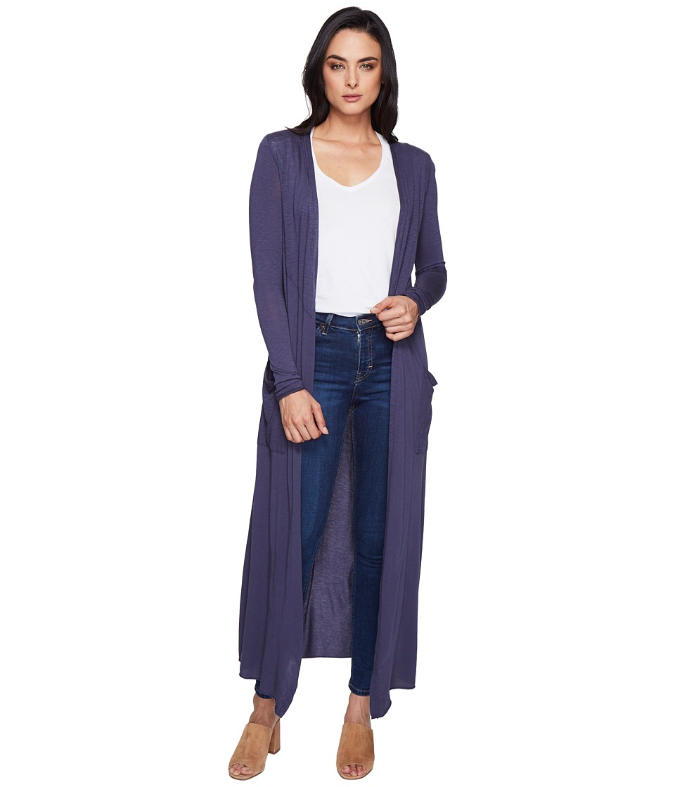 LAmade - Reed Duster Cardigan (Denim) Women's Sweater
