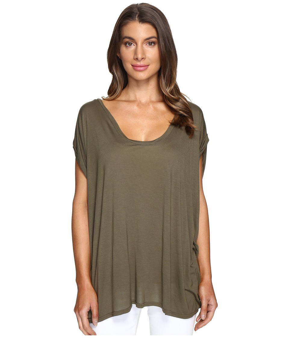 LAmade - Catalina Circle Tee (Olive Night) Women's T Shirt