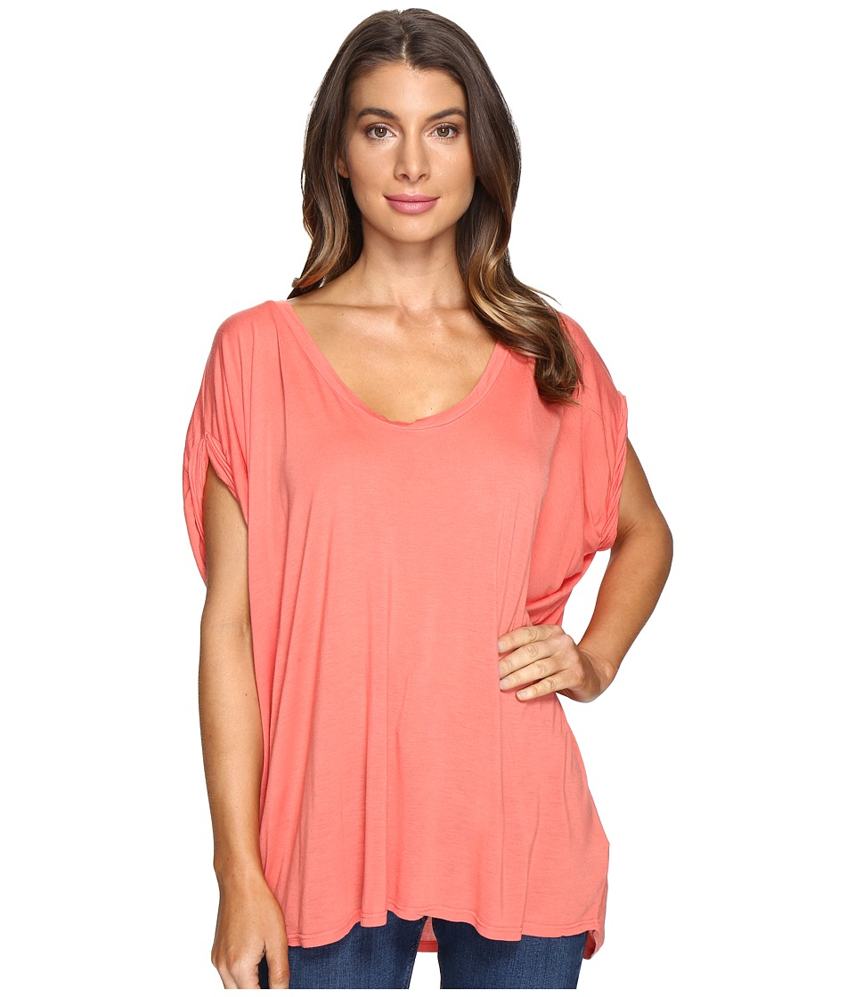 LAmade - Catalina Circle Tee (Spiced Coral) Women's T Shirt