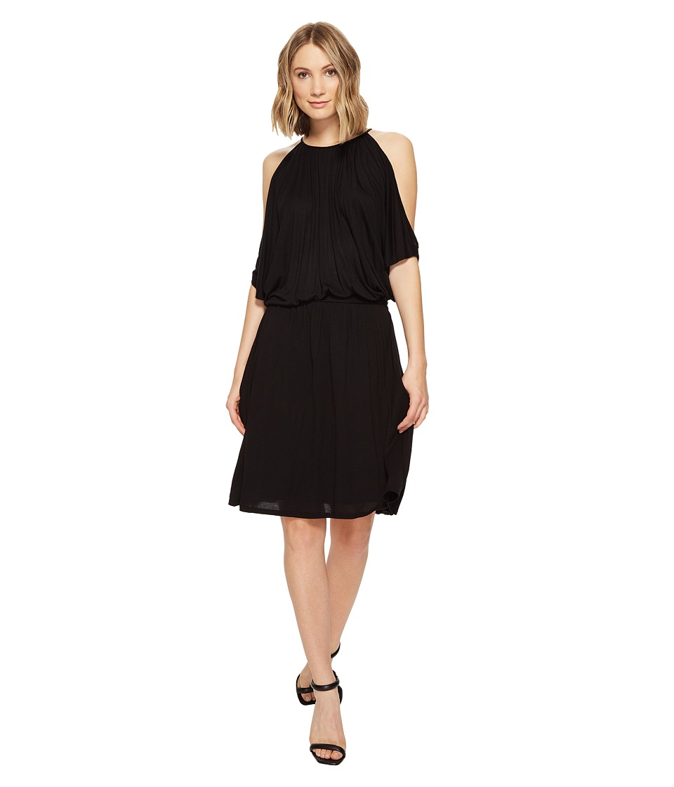LAmade Brenda Off Shoulder Dress (Black) Women