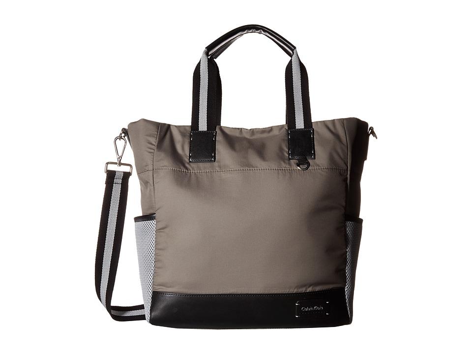 Calvin Klein - Ripstop Cire Tote (Olive) Tote Handbags