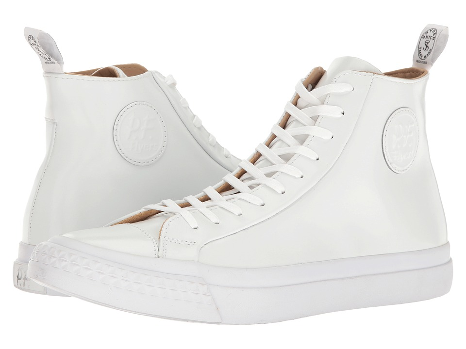 PF Flyers - Todd Snyder Rambler Hi (White) Men's Classic Shoes