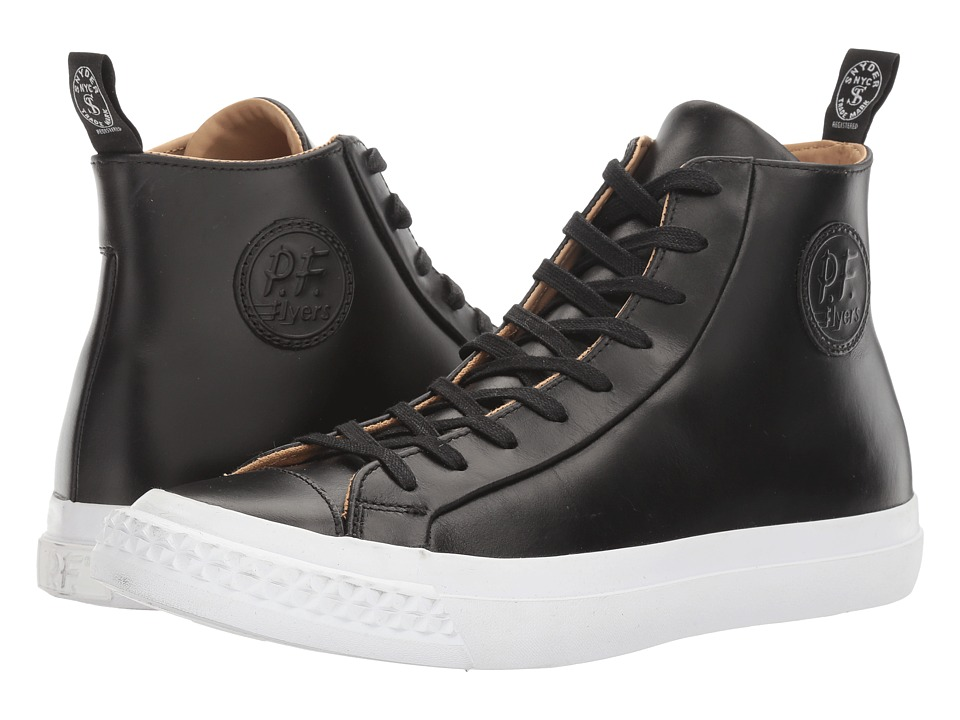 PF Flyers - Todd Snyder Rambler Hi (Black) Men's Classic Shoes