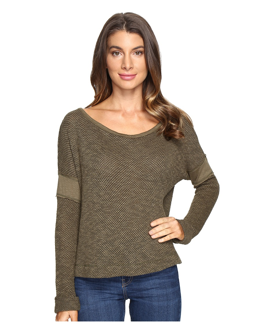 LAmade - Otto Top (Olive Night) Women's Long Sleeve Pullover