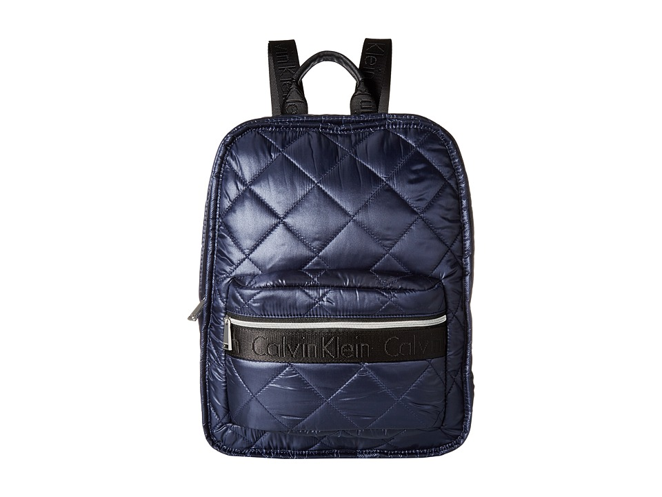 Calvin Klein - Cire Reversible Backpack (Dark Indigo/Purple) Backpack Bags