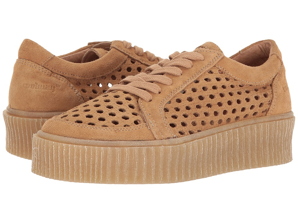 Coolway Cacey (Cognac Oiled Suede) Women