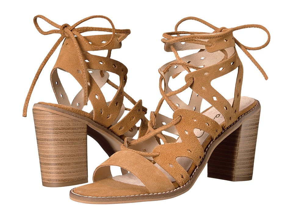 Coolway - Jadanci (Cognac Oiled Suede) Women's Shoes