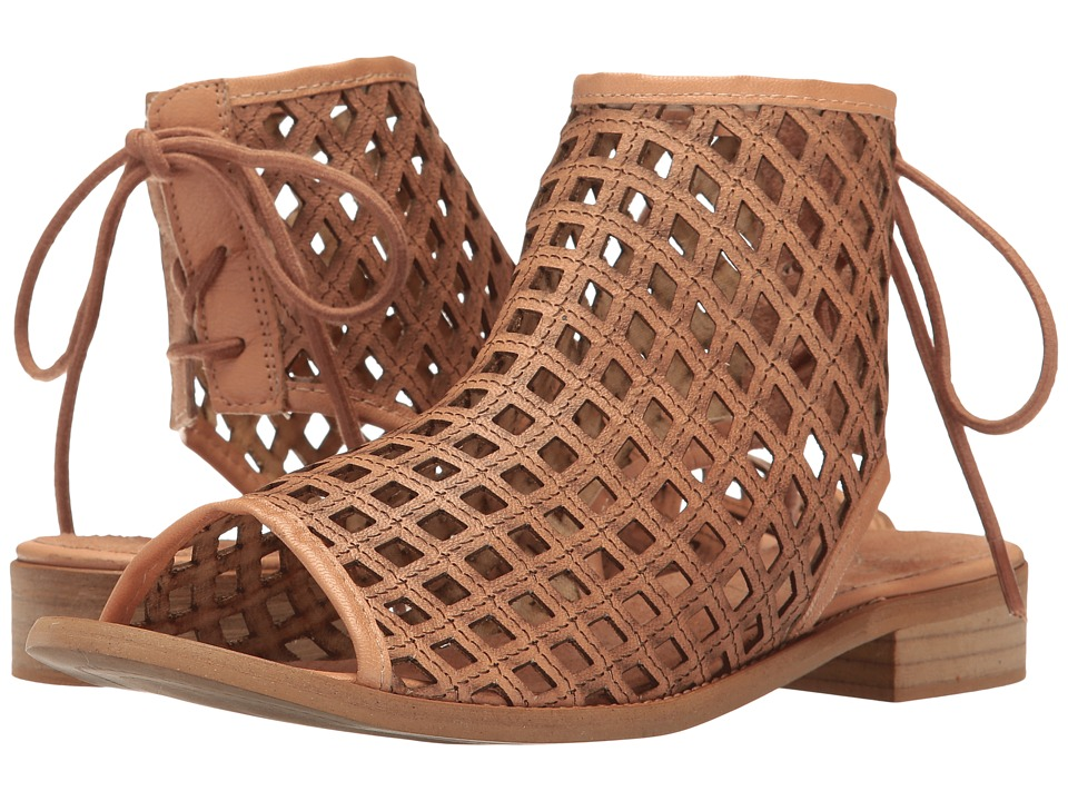 Coolway - Aimy (Cognac Oiled Suede) Women's Sandals