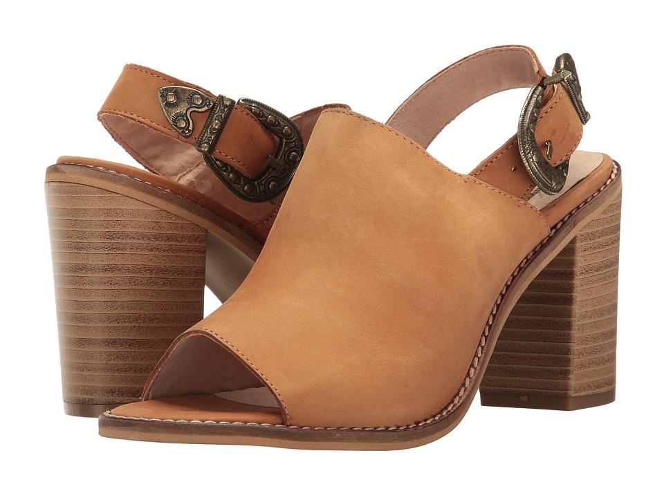 Coolway - Jadeen (Cognac Oiled Leather) Women's Sandals