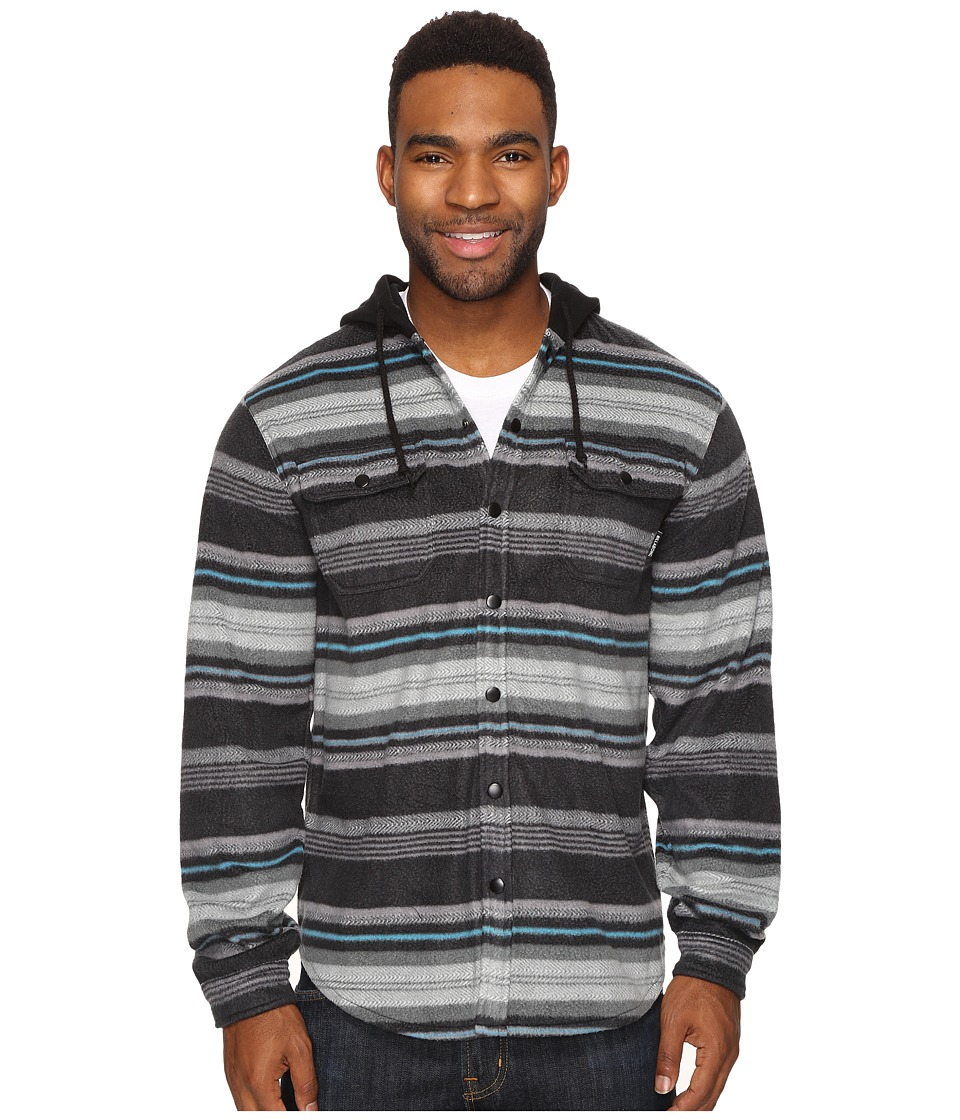 Billabong - Canyon (Black) Men's Long Sleeve Button Up