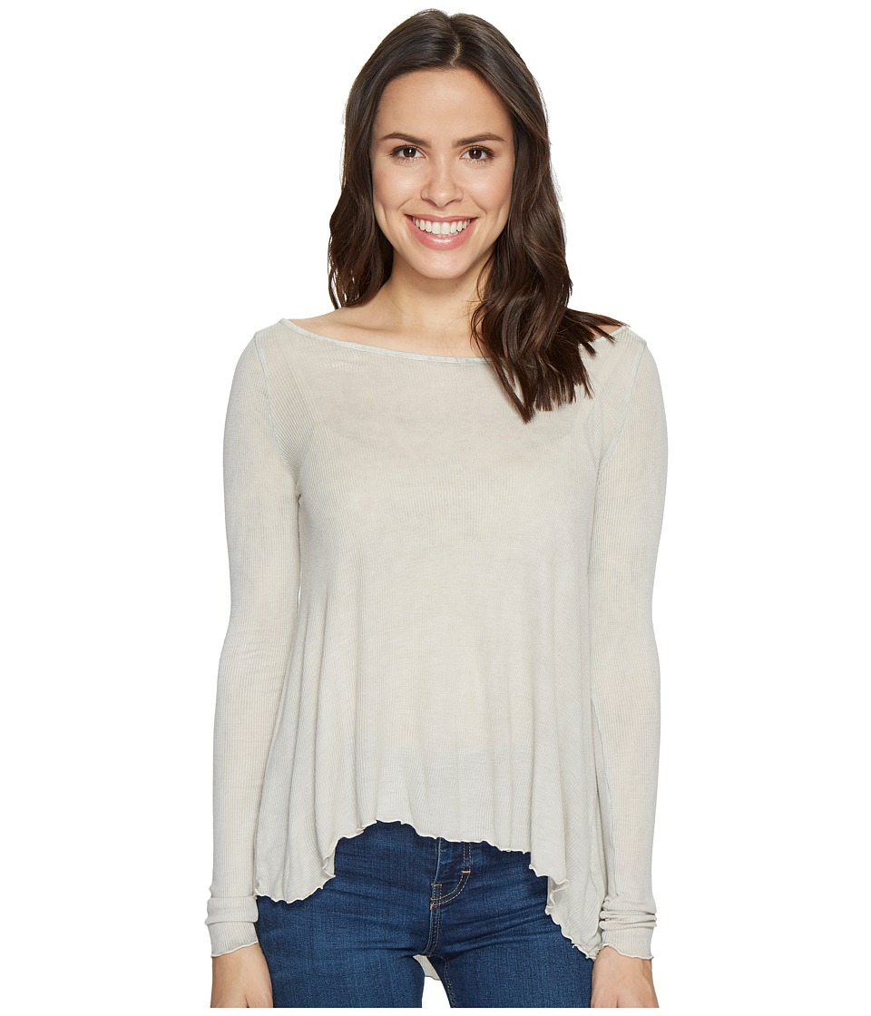 LAmade - Virginia Top (Moon Mist) Women's Long Sleeve Pullover