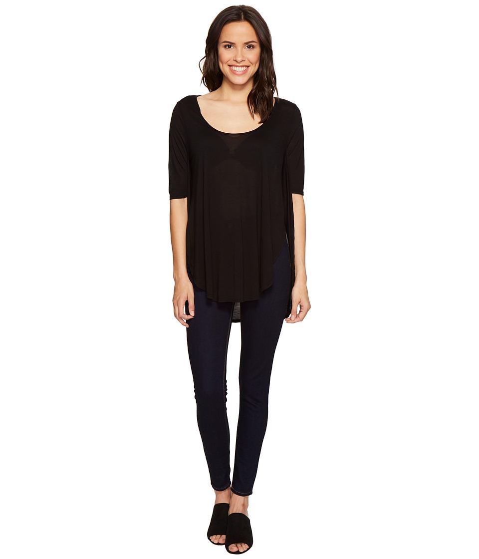 LAmade - Nina Baseball Tee (Black) Women's T Shirt