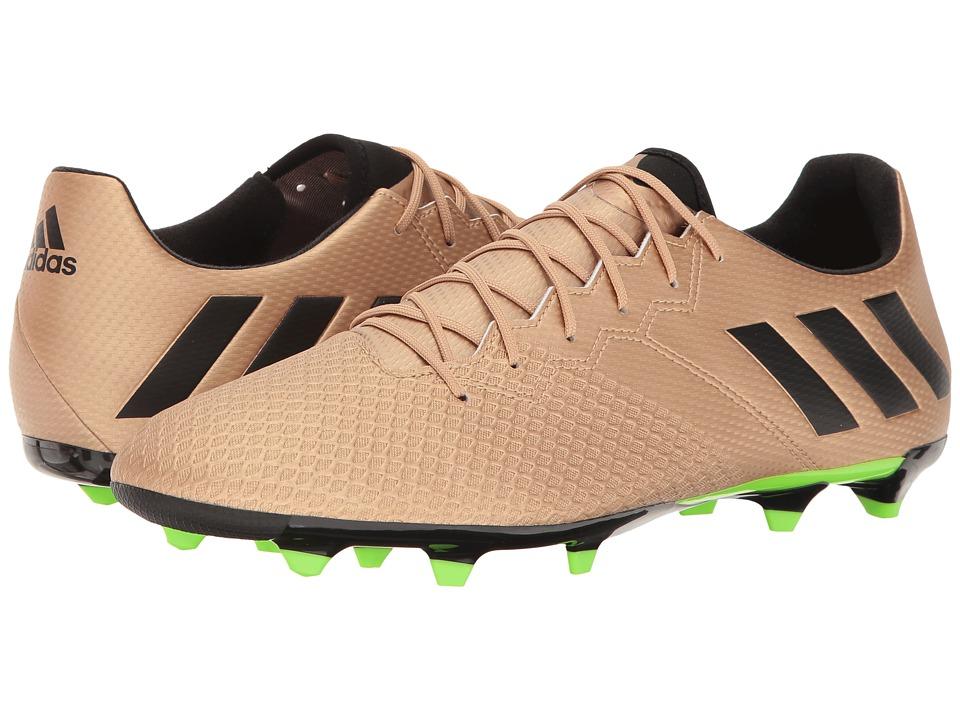 adidas Messi 16.3 FG (Copper Metallic/Black/Solar Green) Men