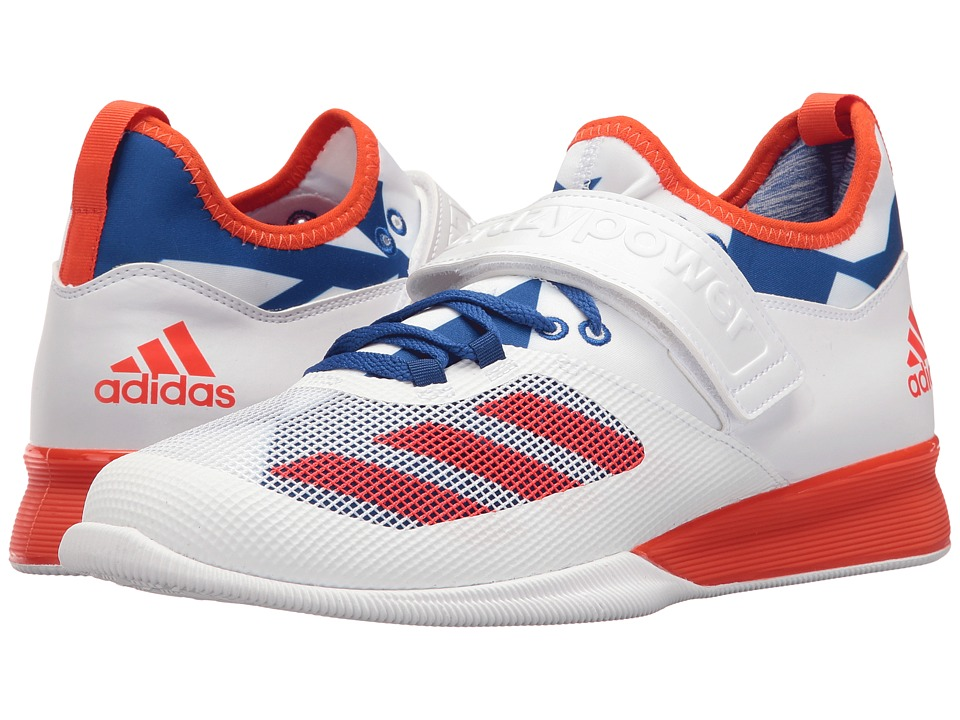 adidas - Crazy Power (Footwear White/Collegiate Royal/Energy) Men's Cross Training Shoes
