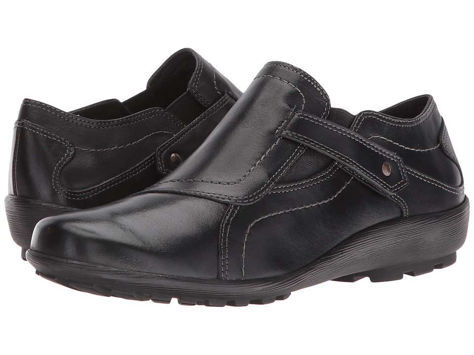 Walking Cradles - Hardy (Black Leather) Women's Shoes
