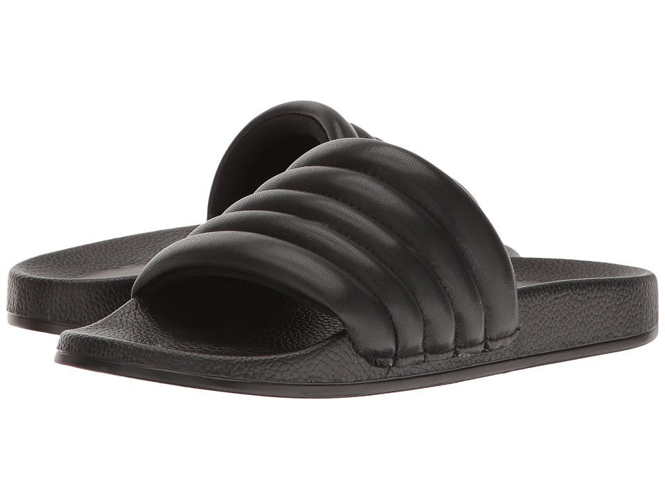 LFL by Lust For Life - Corsica (Black Synthetic) Women's Slide Shoes