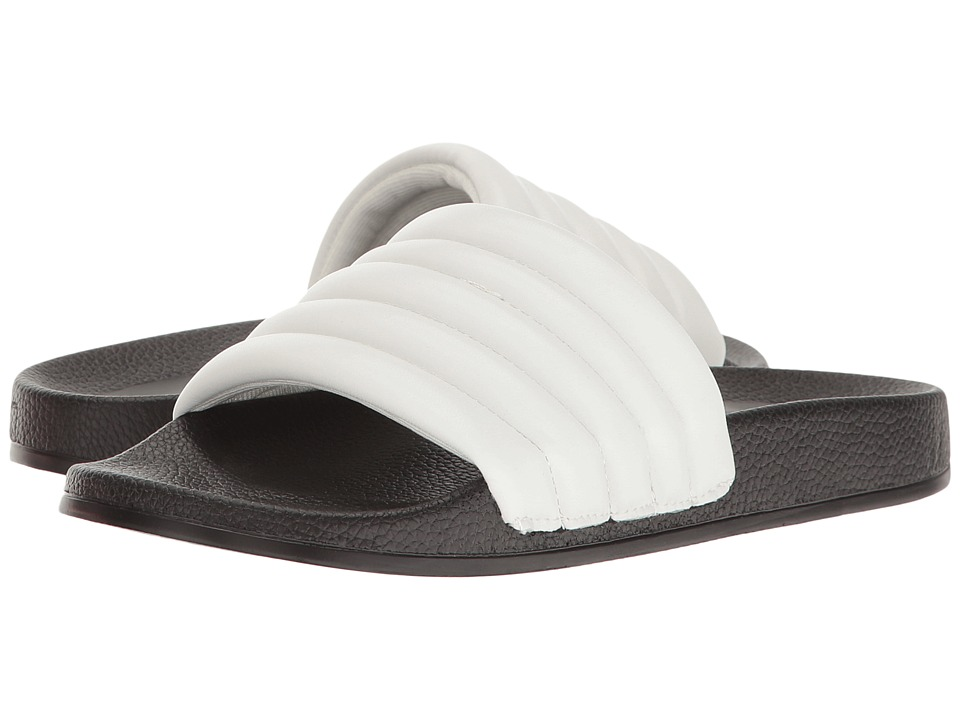 LFL by Lust For Life - Corsica (White Synthetic) Women's Slide Shoes