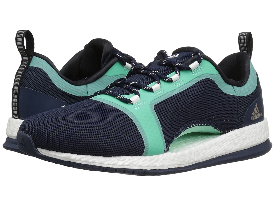 adidas - Pure Boost X TR 2 (Collegiate Navy/Core Black/Easy Green) Women's Cross Training Shoes