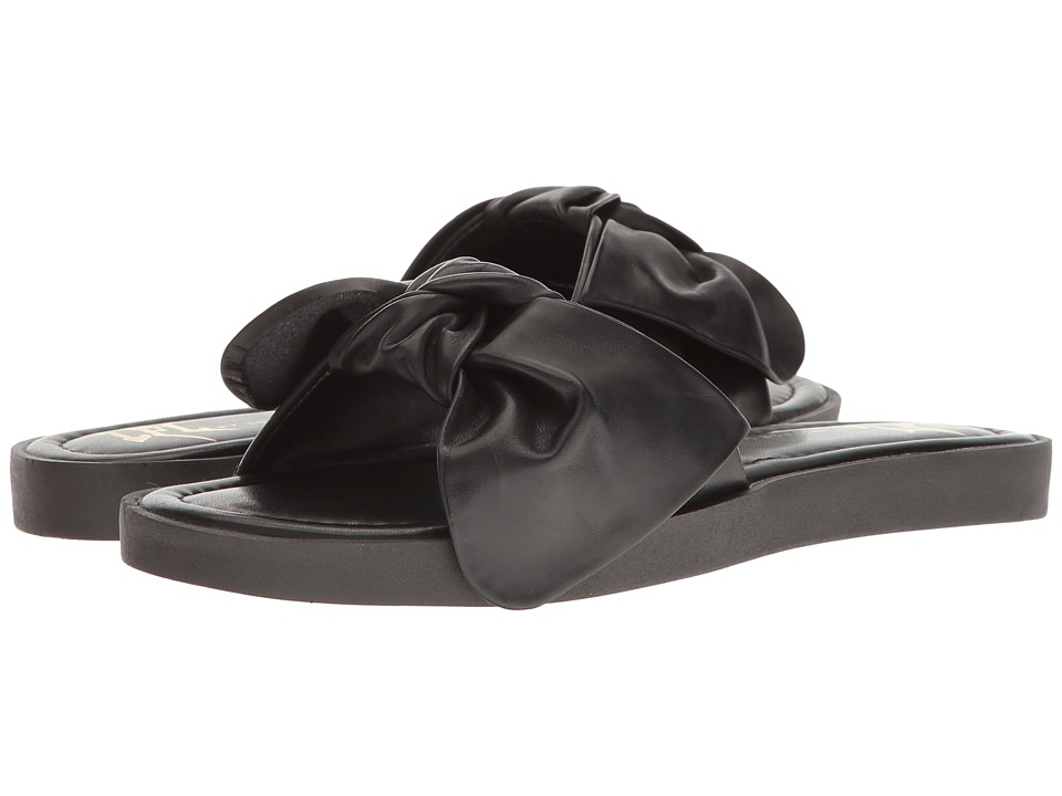 LFL by Lust For Life - Jazz (Black Leather) Women's Shoes