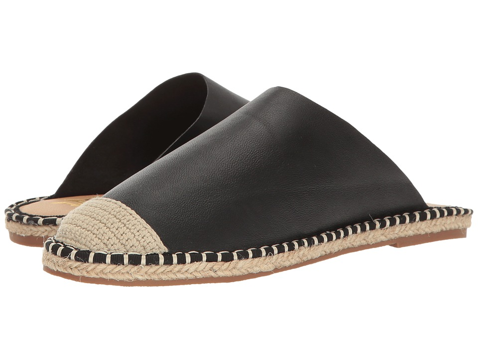 LFL by Lust For Life - Knack (Black Leather) Women's Slippers