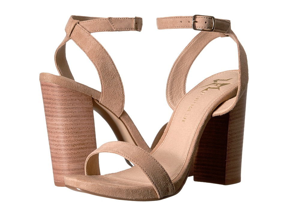 LFL by Lust For Life - Guru (Nude Suede) High Heels