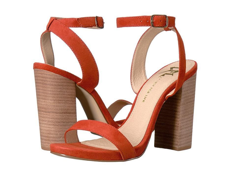 LFL by Lust For Life - Guru (Papaya Suede) High Heels