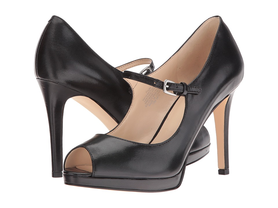 Nine West - Emergencee (Black Leather) Women's Shoes