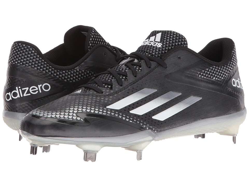 adidas - Adizero Afterburner 2.0 (Black/Tech Grey Metallic/White) Men's Shoes