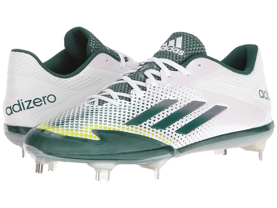 adidas Adizero Afterburner 2.0 (White/Tech Metallic Grey/Forest) Men