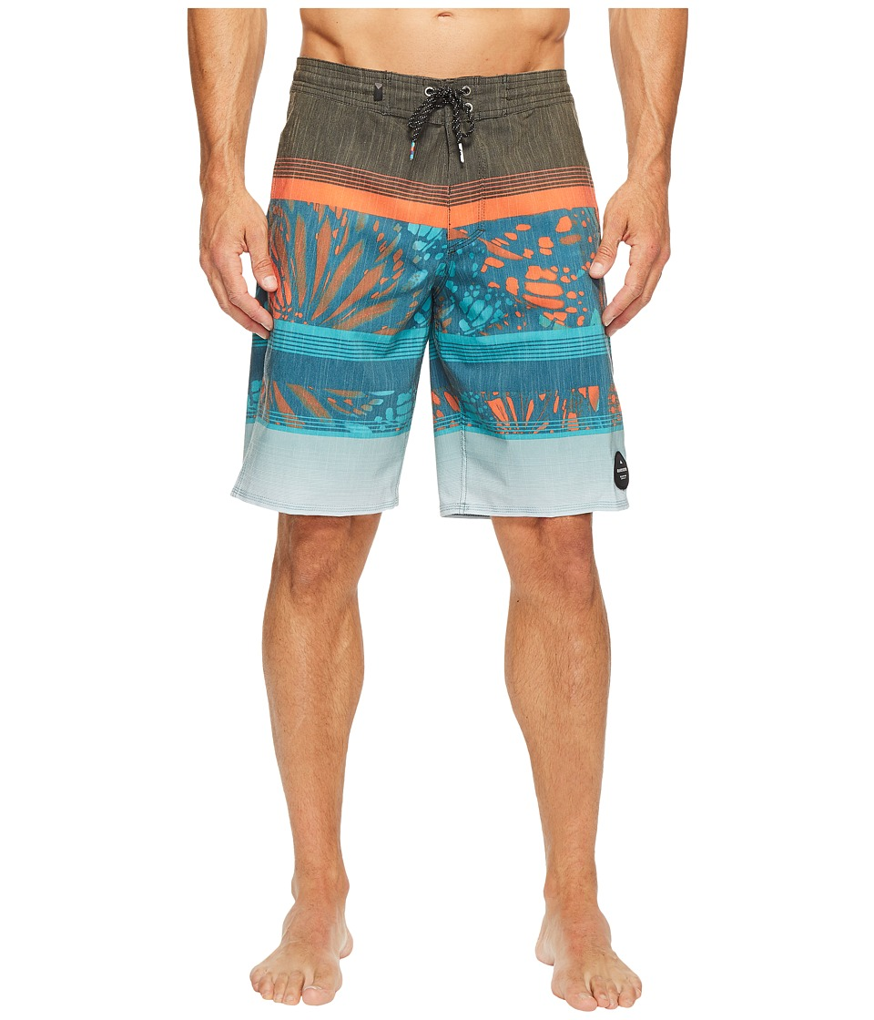 Quiksilver - Swell Vision 20 Beach Shorts (Tarmac) Men's Swimwear