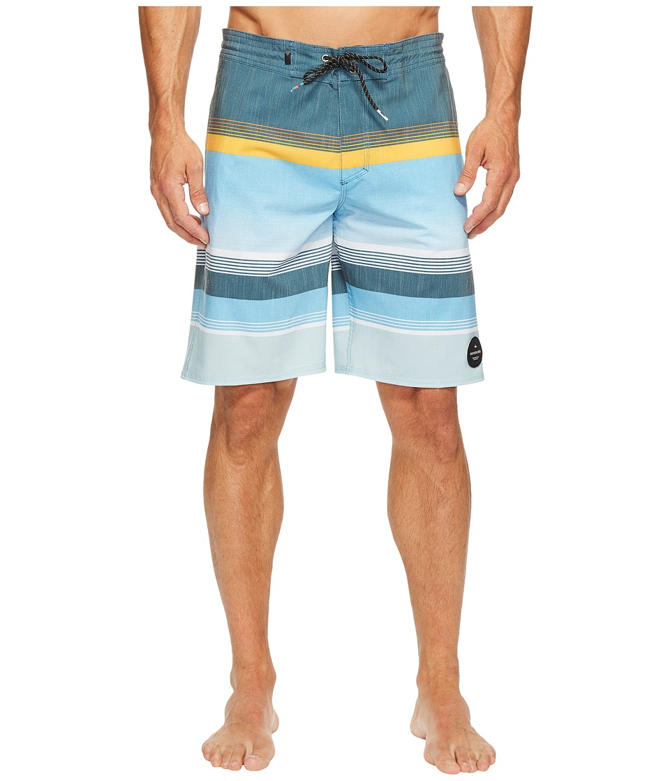 Quiksilver - Swell Vision 20 Beach Shorts (Indian Teal) Men's Swimwear