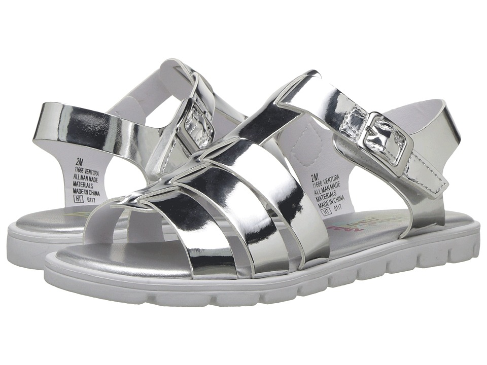 Rachel Kids - Ventura (Little Kid/Big Kid) (Silver Metallic) Girl's Shoes