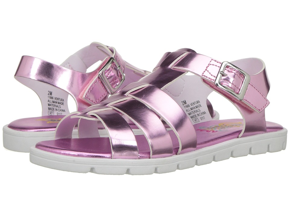 Rachel Kids - Ventura (Little Kid/Big Kid) (Pink Metallic) Girl's Shoes