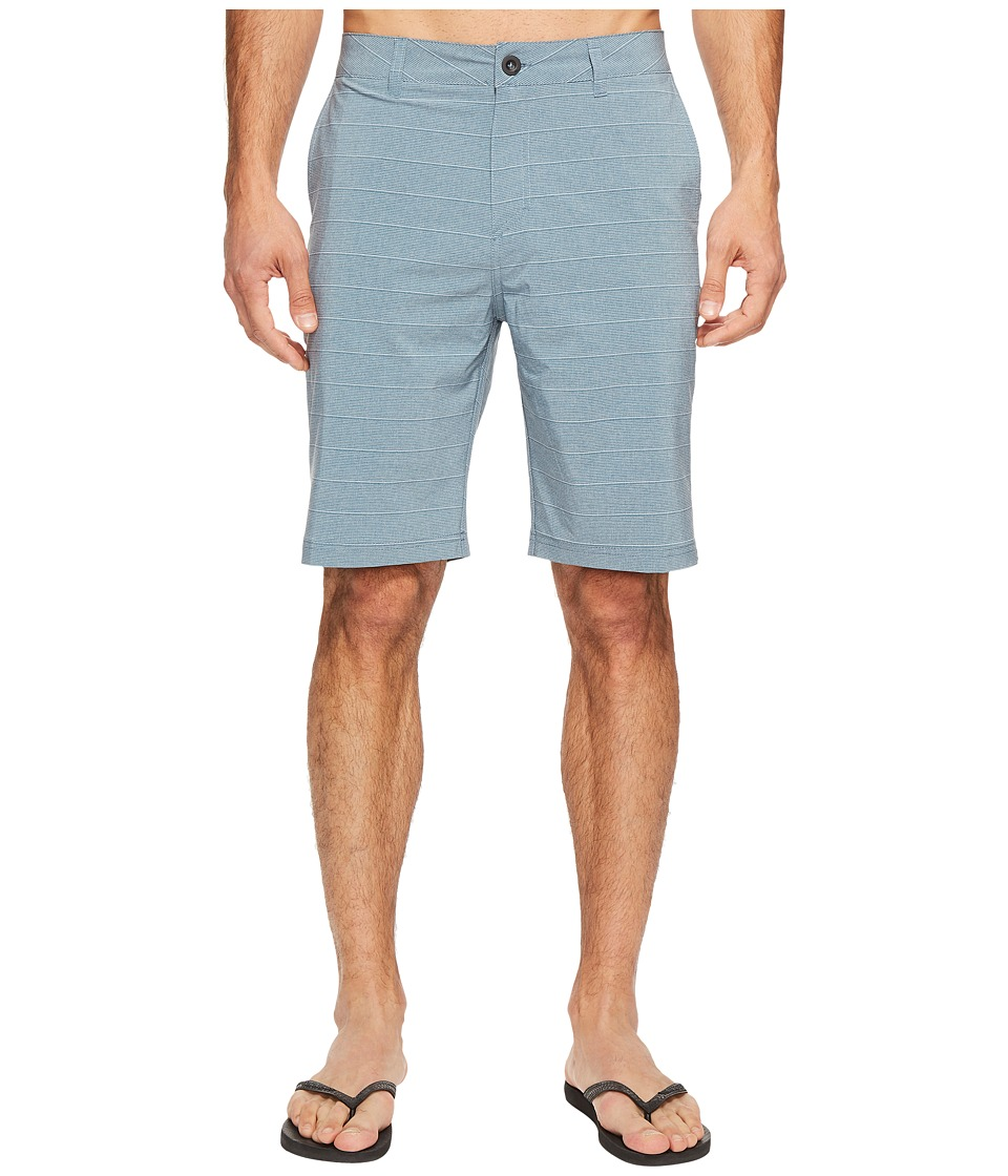 Quiksilver - Lines 21 Hybrid Walkshorts (Indian Teal) Men's Shorts