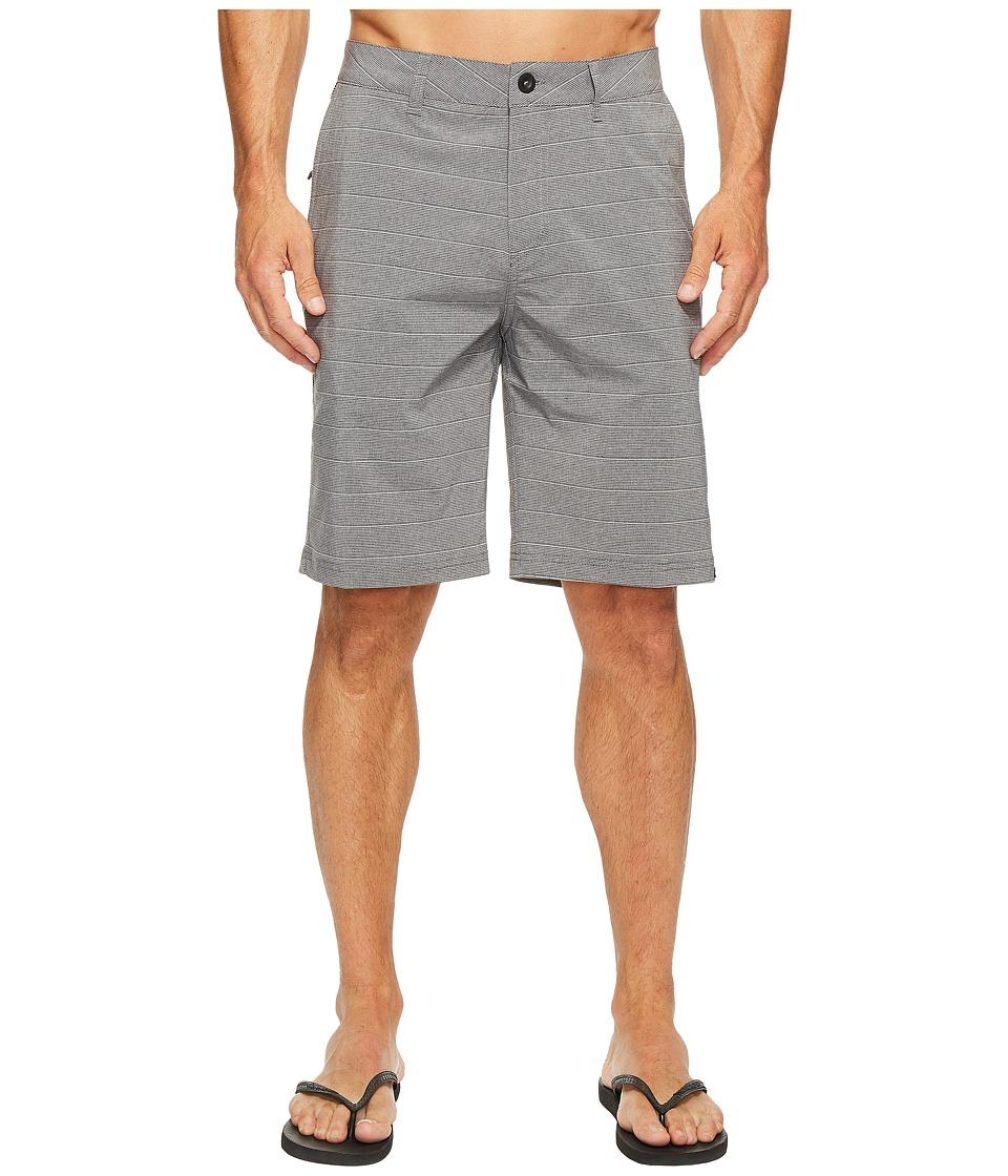 Quiksilver - Lines 21 Hybrid Walkshorts (Tarmac) Men's Shorts
