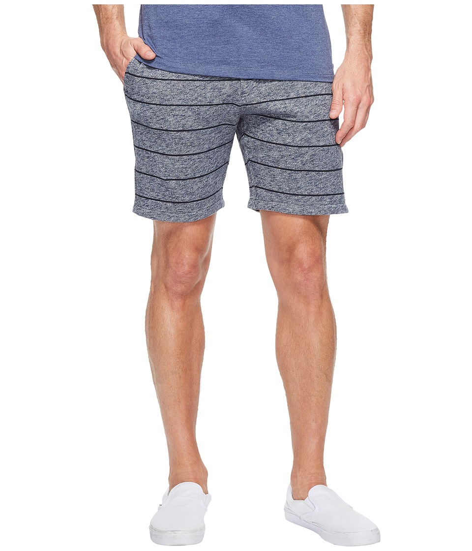 Quiksilver - Street Fleece Shorts (Navy Blazer) Men's Shorts
