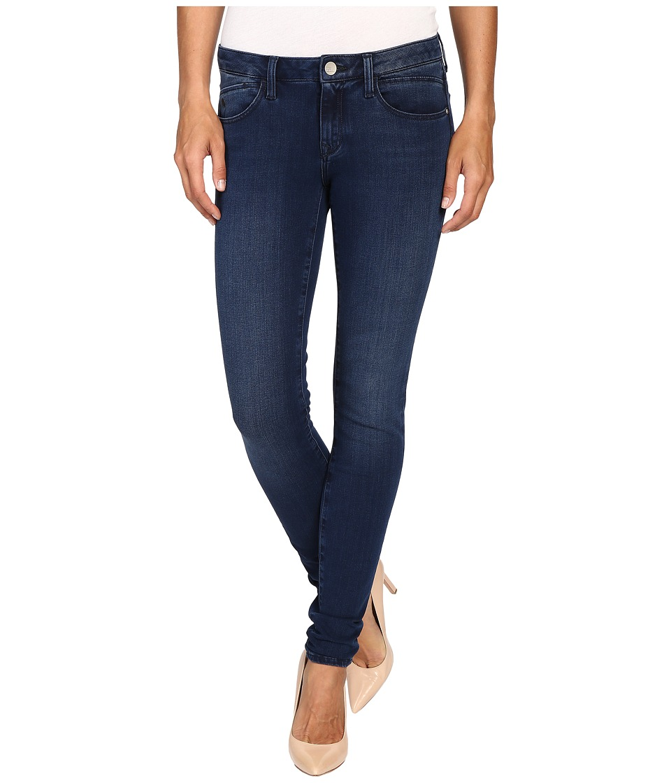 Mavi Jeans - Adriana Midrise Super Skinny in Rinse Brushed Bi Stretch (Rinse Brushed Bi Straight) Women's Jeans