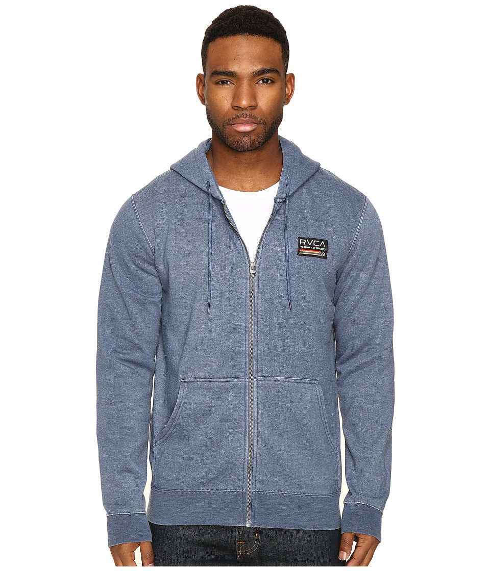 RVCA - Mechanics (Inmate Blue) Men's Clothing