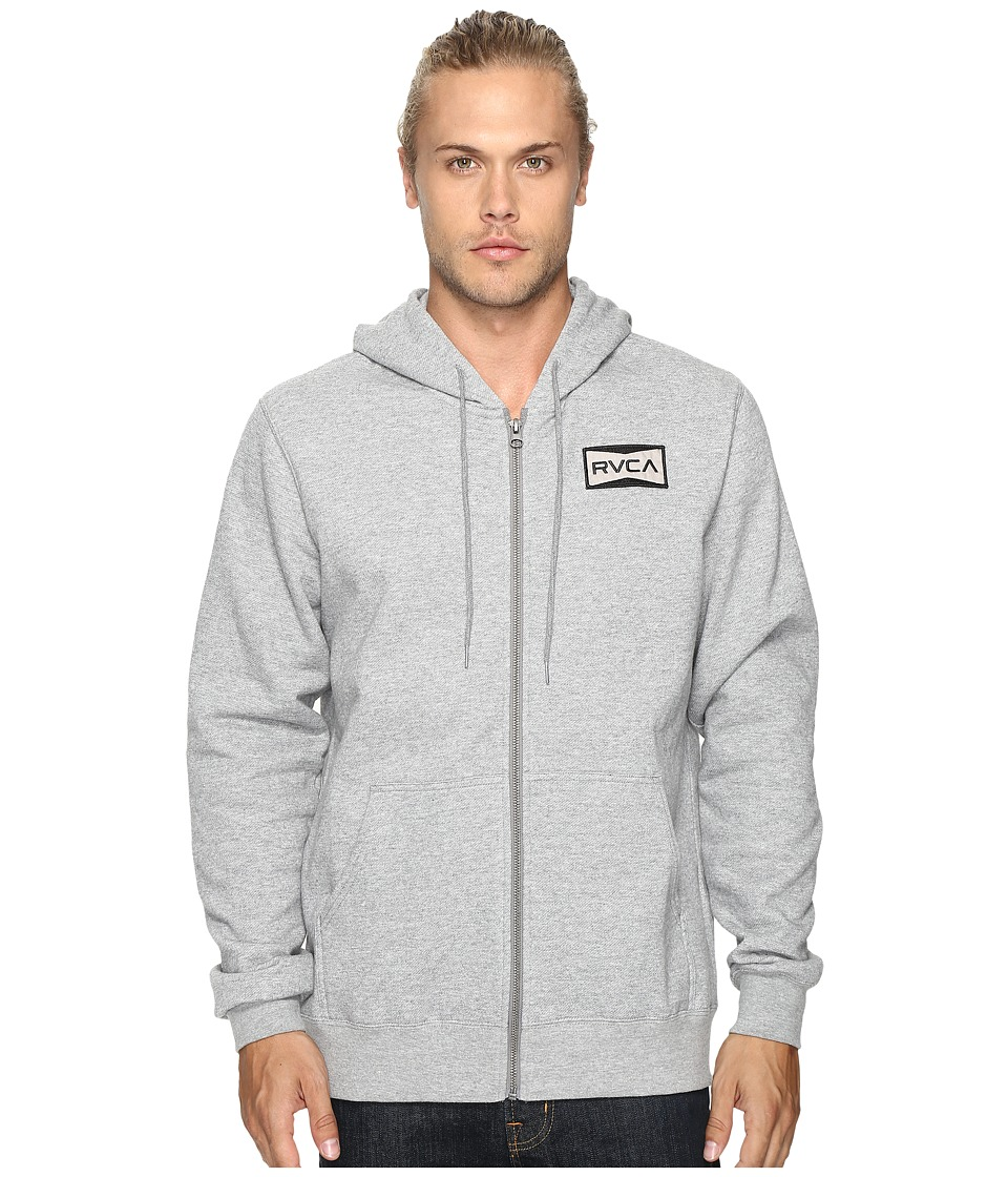 RVCA - Reds Patch (Grey Noise) Men's Clothing