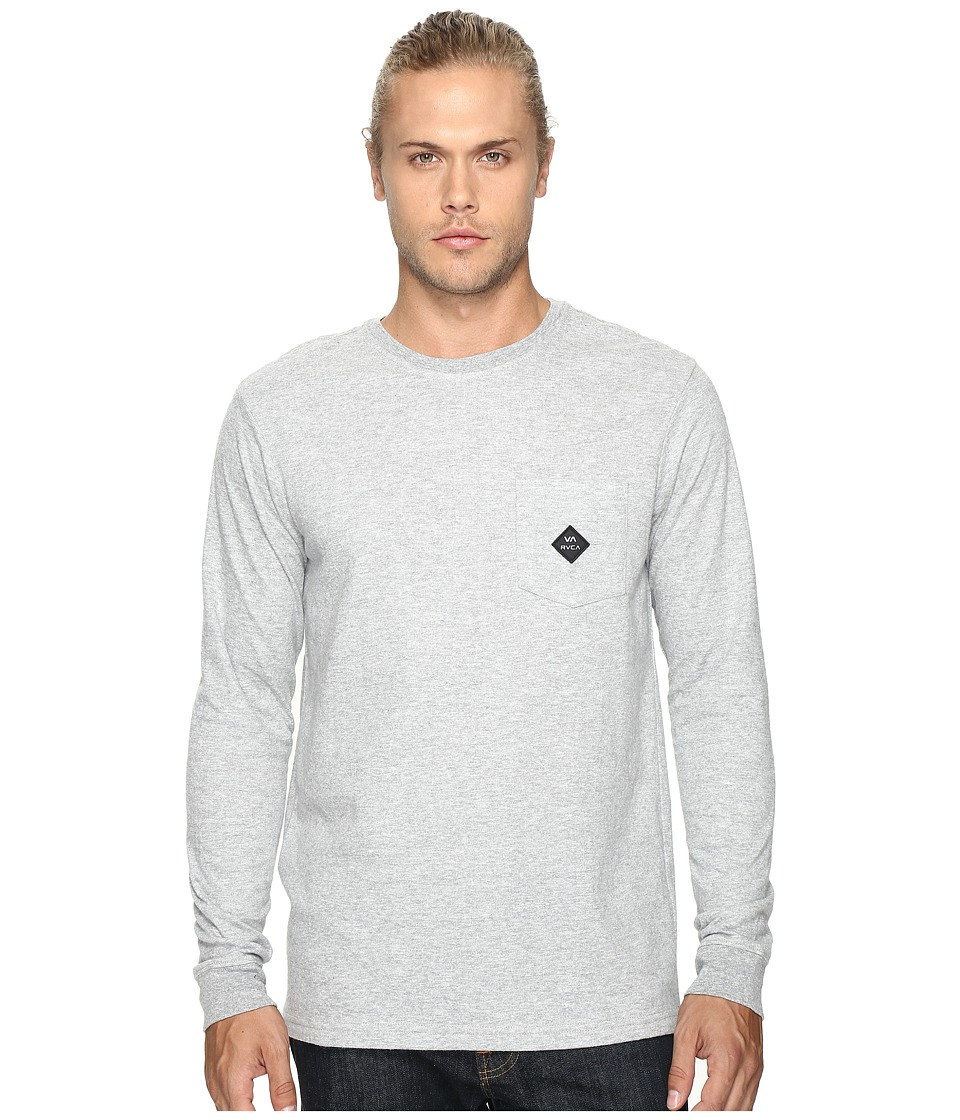 RVCA - Double Time (Athletic Heather) Men's Clothing