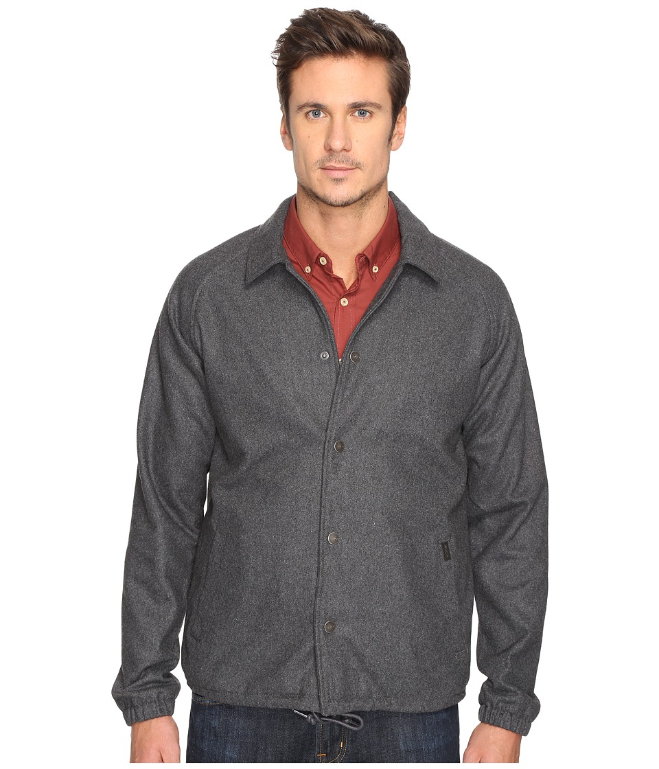 RVCA - Wrenchman Coaches Jacket (Grey Noise) Men's Coat