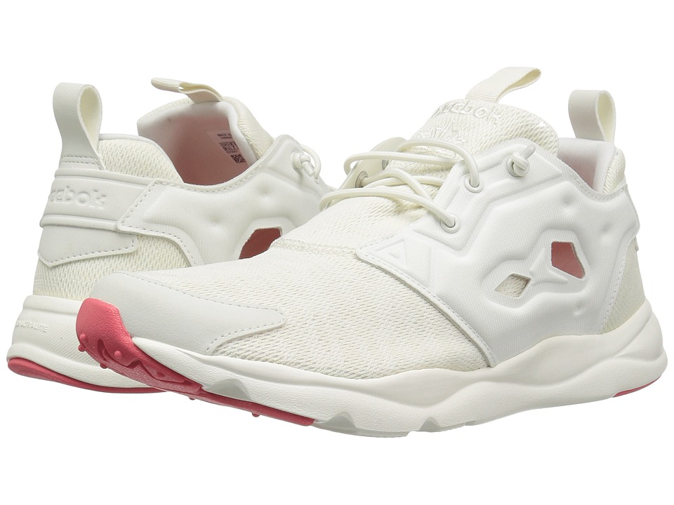 Reebok - Furylite Sole (Classic White/Chalk/White/Fire Coral) Women's Shoes