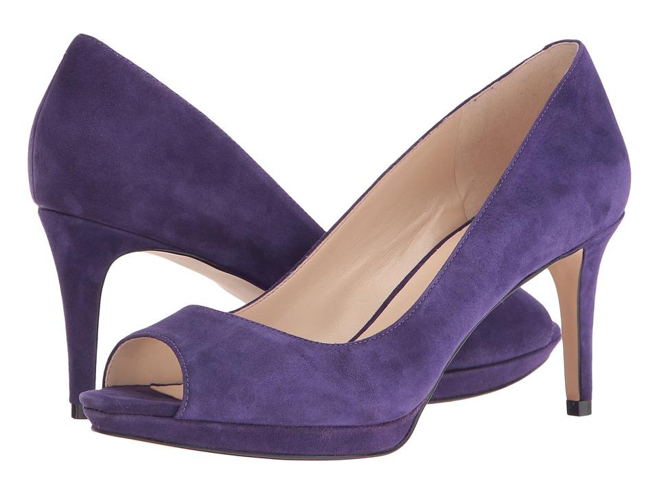 Nine West - Gelabelle (Dark Purple) Women's Shoes