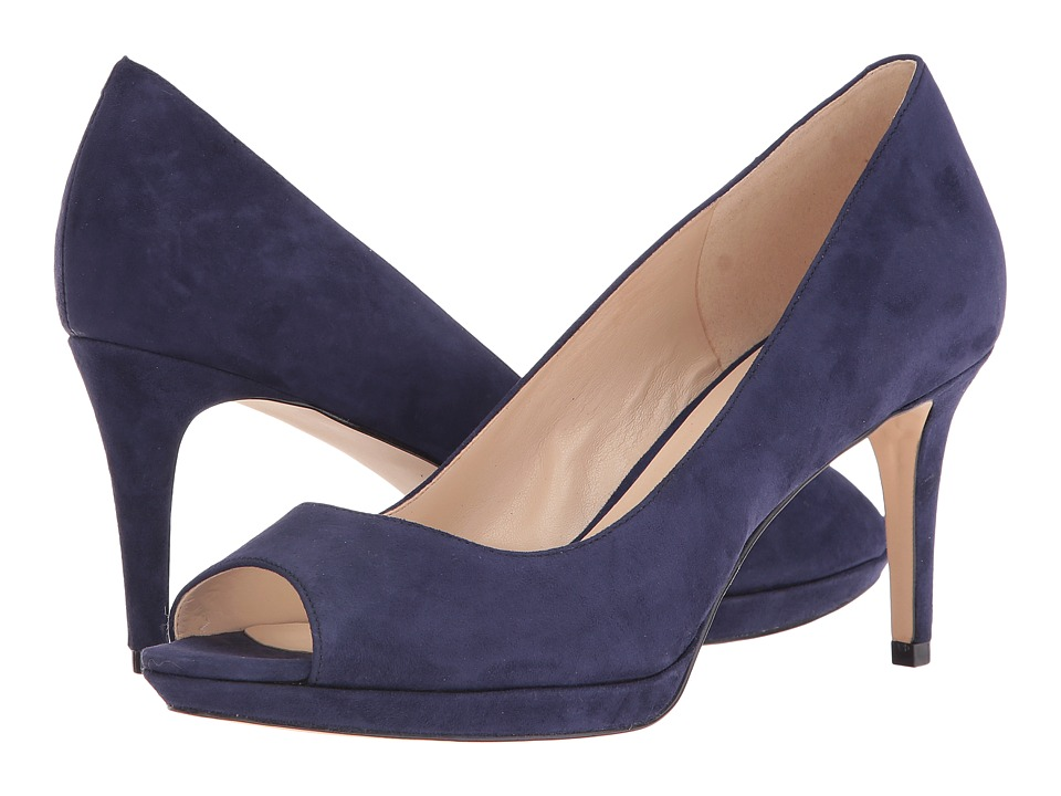 Nine West - Gelabelle (Navy Suede) Women's Shoes